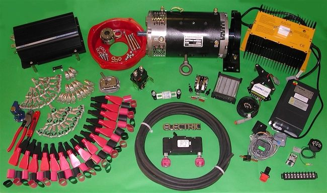 DIY electric car conversion kit