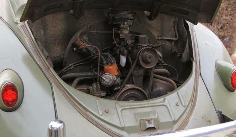 start rebuild vw beetle engine