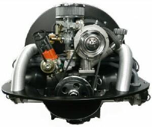 Rebuilt VW Beetle engine