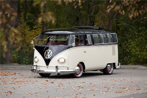 Split Window VW Bus 1965 front