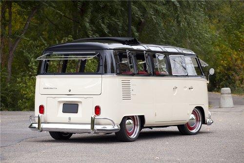 Split Window VW Bus 1965 rear
