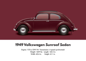 VW Beetle 1949