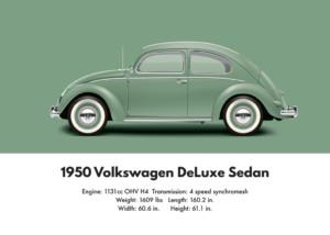 VW Beetle 1950