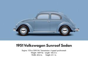 VW Beetle 1951
