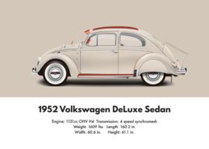 VW Beetle 1952