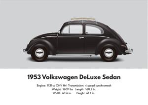 VW Beetle 1953