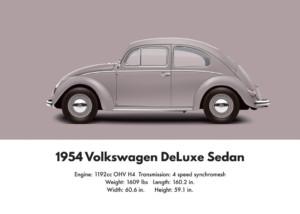 VW Beetle 1954