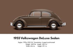VW Beetle 1955