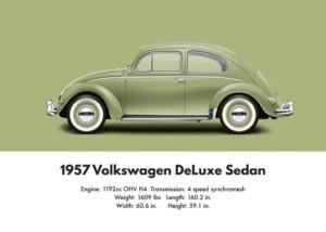 VW Beetle 1957