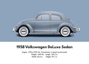 VW Beetle 1958