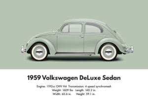 1959 Vw Beetle Specifications And Technical Details Aircooled Community