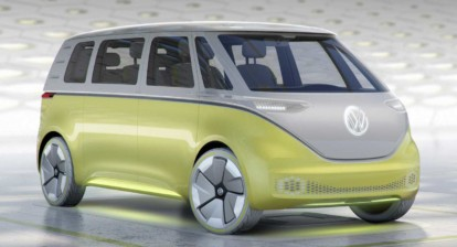 Electric VW Bus, release date 2022 (I.D. Buzz)
