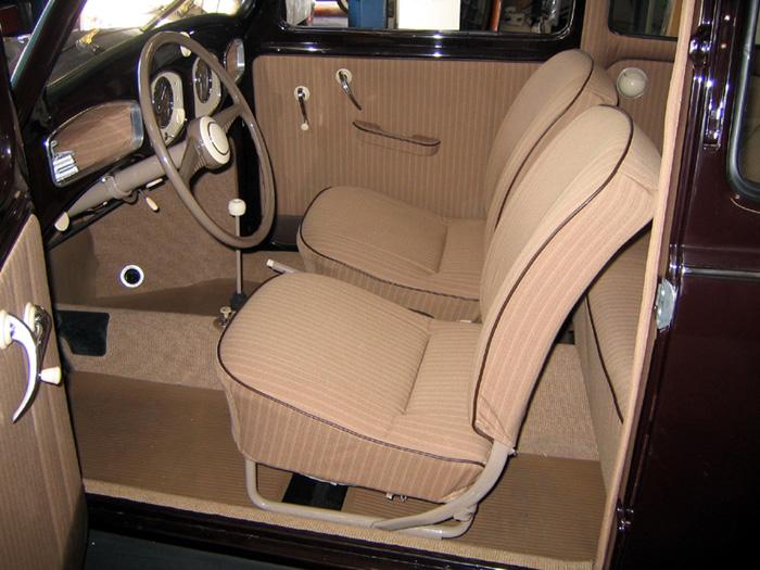 1951 VW Beetle interior parts