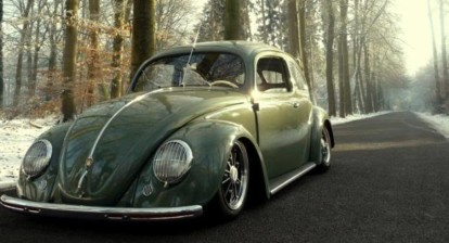 Slammed VW Bug