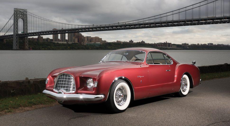 Virgil Exner 1953 Chrysler D'Elegance Karmann Ghia