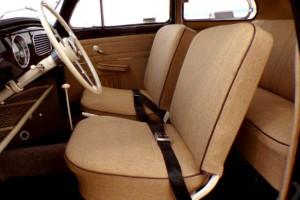 Custom VW Bug interior