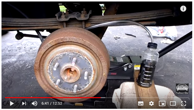 How to bleed drum brakes?
