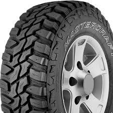 Mastercraft tire MXT
