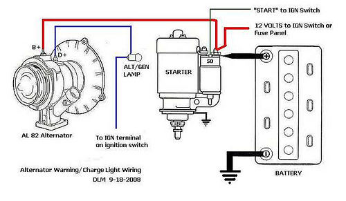 How to wire an alternator