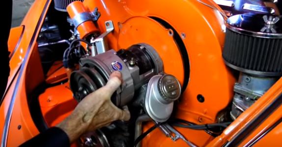 Remove the alternator