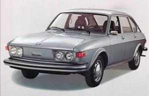 VW Type 4 - 411 model