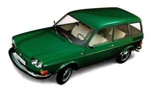VW Type 4 - 412 model