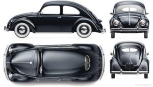 1948 VW Beetle Split Window