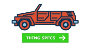 VW Thing specs