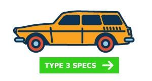 VW Type 3 Specs