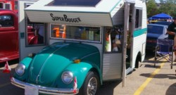 VW Super Bugger: a VW Bug with camper