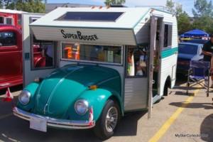 VW Super Bugger: a VW Bug with camper