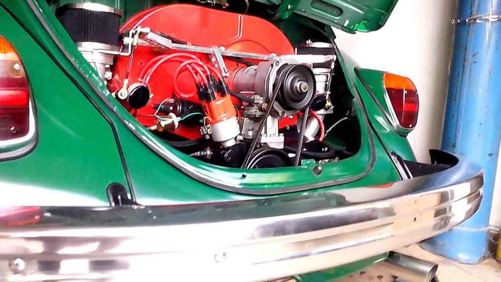 VW Beetle crate engine turbo