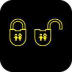 Child safety lock warning light